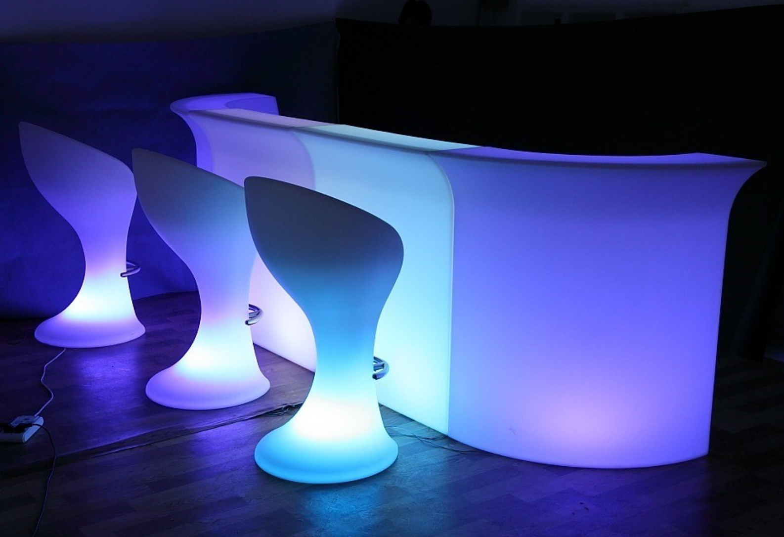 Led Garden Furniture Light Up Your Outdoor Space