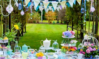english garden party theme
