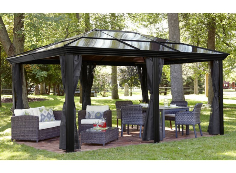 Polycarbonate Roof Gazebo Review Amp Buying Guide Gardenluxe