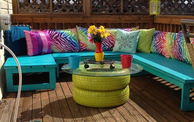 What is Upcycled Garden Furniture?