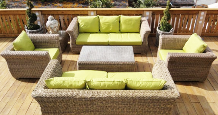 Montana Rattan Weave Garden Furniture