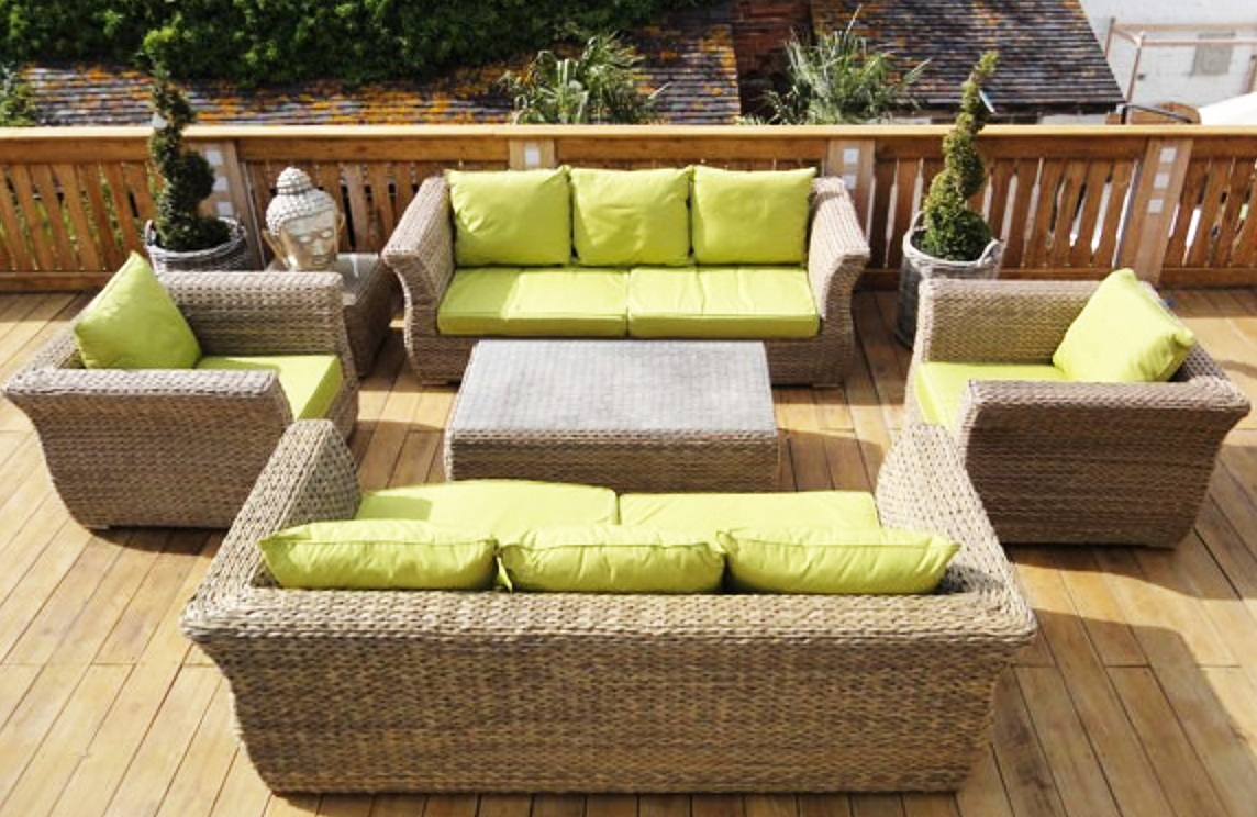 Stupendous Rattan Outdoor Corner Sofa Sets Kingston Corner Set In Grey Machost Co Dining Chair Design Ideas Machostcouk
