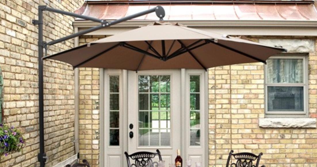 turino wall mounted parasol