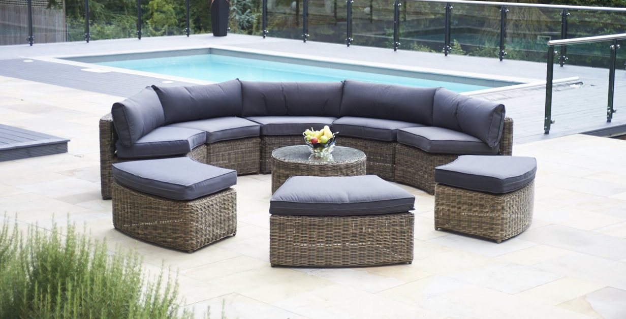 Luxury Rattan Garden Sofas from Bridgman